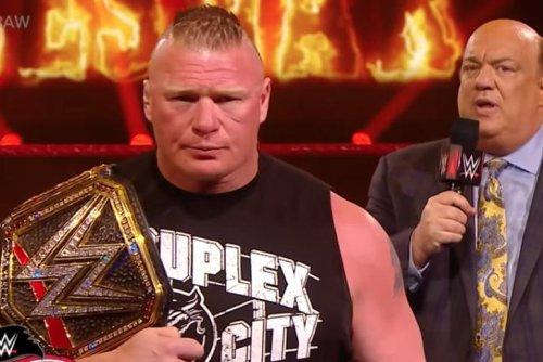 WWE Raw: Brock Lesnar, Edge make WrestleMania promises
