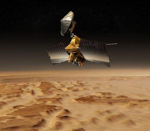 NASA prepares for instrument swap on Mars orbiting spacecraft