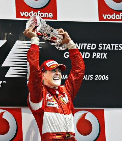 Ferrari using Schumaker for Felipe Massa