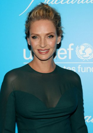 Uma Thurman gives birth to daughter