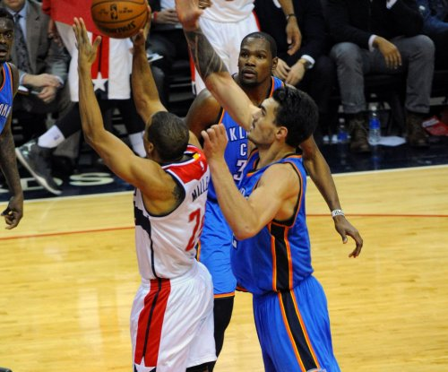 Oklahoma City Thunder, Blazers battle in Portland
