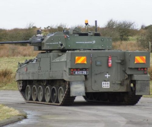 Lockheed Martin UK demos modernized Warrior armored vehicle