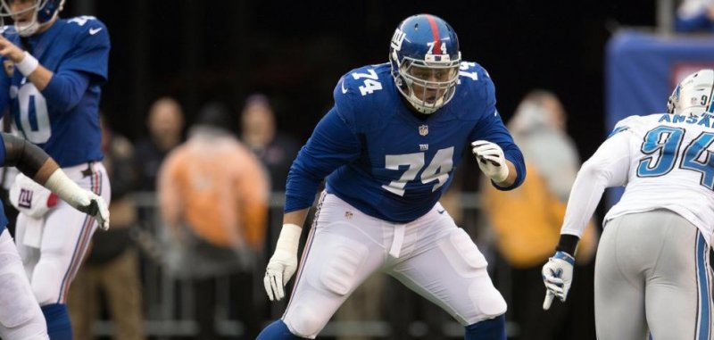 e207bfb96 New York Giants OT Ereck Flowers shows up for workouts - UPI.com