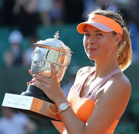 Maria Sharapova named the new face of Avon's fragrance 'Luck'