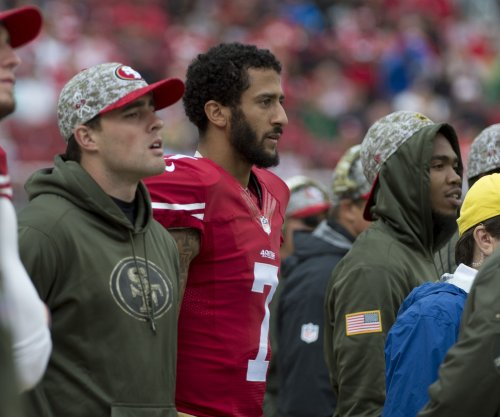Colin Kaepernick visits San Francisco 49ers' facility despite Denver Broncos' trade talks