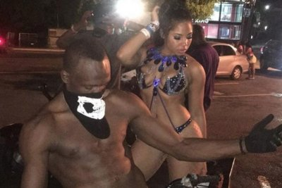 Meet Usain Bolt's beautiful girlfriend, and biggest cheerleader