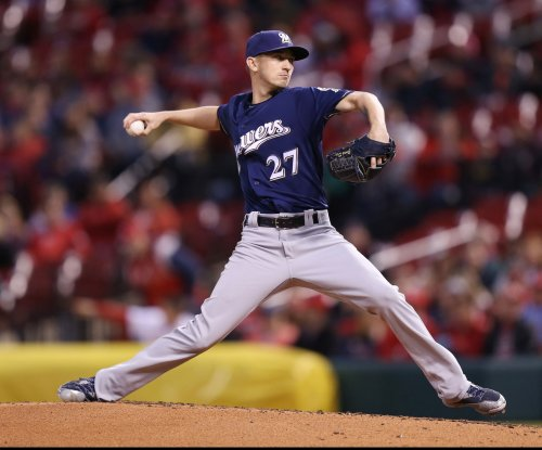 Milwaukee Brewers ride arm of Zach Davies to deal Los Angeles Dodgers rare home loss