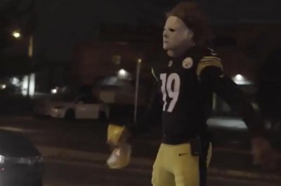 JuJu Smith-Schuster is himself for Halloween