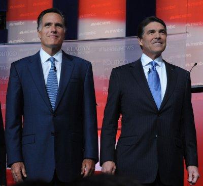 Perry, Romney joust in latest GOP debate