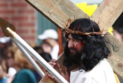 Women drive away robber with 'Jesus'