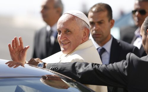 Pope calls for candor as bishops' conference opens