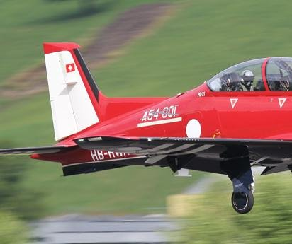 Pilatus-made Australian PC-21 completes first flight