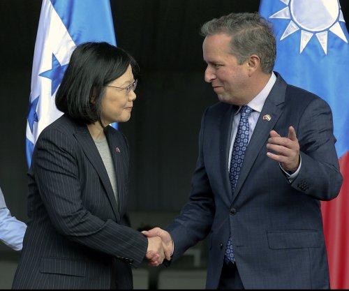 Taiwan's Tsai Ing-wen meets with leaders of Honduras, Nicaragua