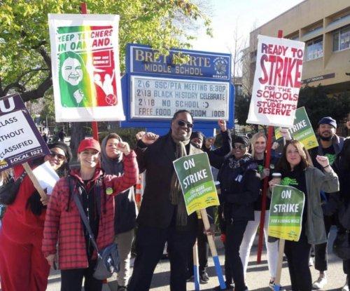 Thousands of Oakland teachers strike in latest U.S. education walkout