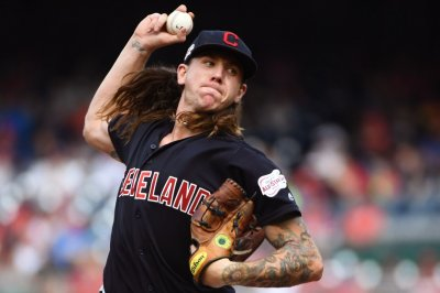 Padres trade for Indians pitcher Mike Clevinger in 9-player deal