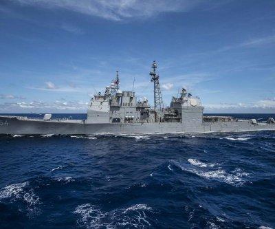 Fire on USS Antietam hurts 13 sailors