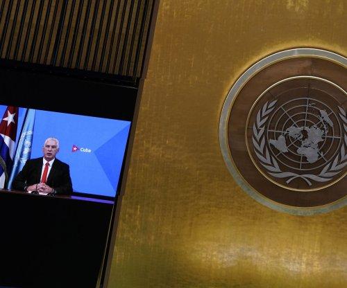 Watch live: Leaders from Cuba, Iraq, Libya, Italy speak at U.N.