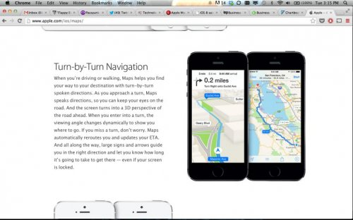 Reports: Apple iOS 8 to feature major mapping upgrade, improve transit directions