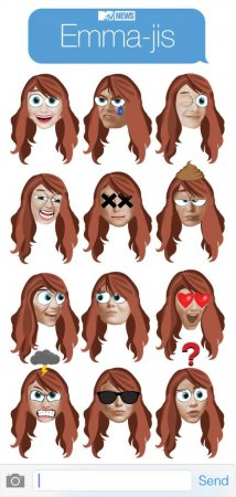 Emma Stone is now an emoji: Meet the 'Emma-jis'