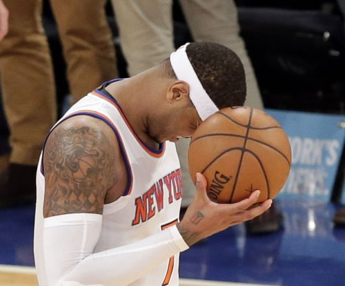 New York Knicks hope to have Anthony in visit with Mavs