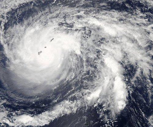 NASA satellite captures Typhoon Dolphin passing over Guam