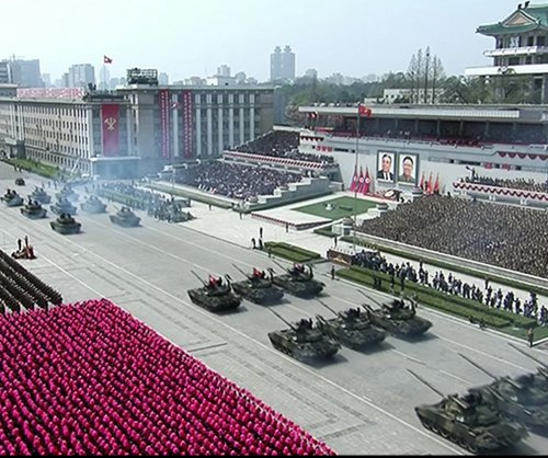 Report: North Korea's military parade to include fighter jets, artillery
