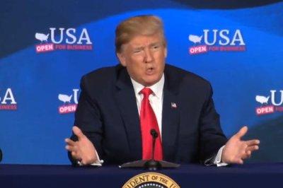 Trump promotes GOP tax law in Ohio