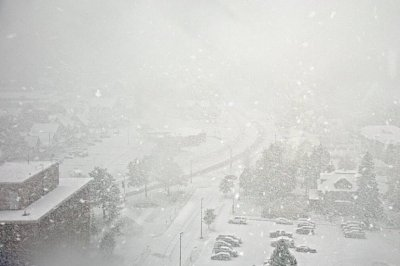 Michigan looks like winter wonderland in October as snow sweeps in