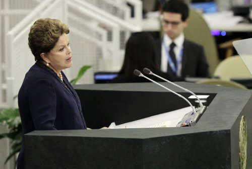 Brazil's president charges magazine with 'electoral terrorism'