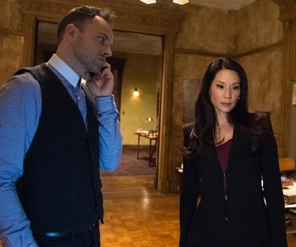 Lucy Liu talks about directing zebra-centric episode of 'Elementary' in the snow