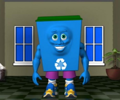 NSA introduces a recycling mascot for kids named 'Dunk'