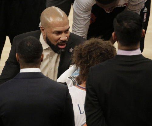 New York Knicks fire coach Derek Fisher