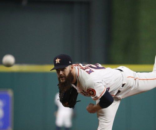Astros seek series win against Rangers