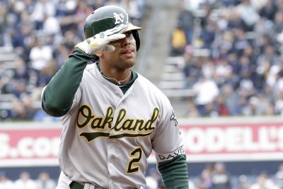 Davis, A's look to take down Rangers