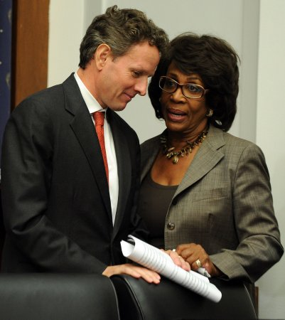 Rep. Waters denies violating ethics rules