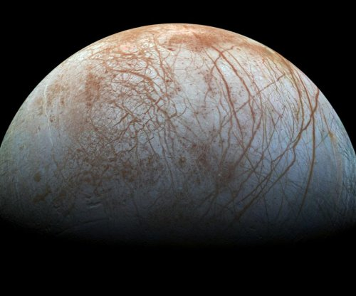 Dark material on Europa's surface may be sea salt