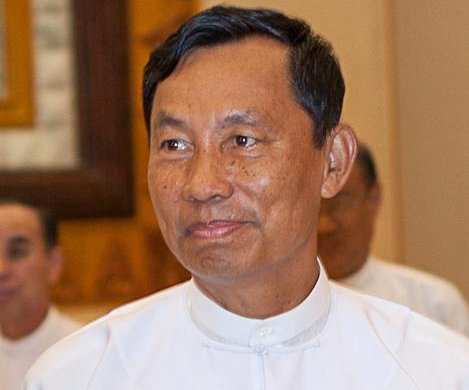 Former Myanmar presidential candidate under house arrest