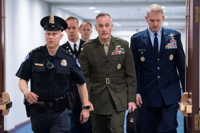 Dunford: U.S. seeks to create coalition to protect ships in waters near Iran, Yemen