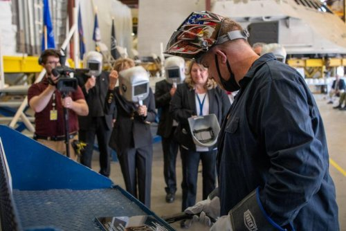 Keel laid for future littoral combat ship USS Cleveland