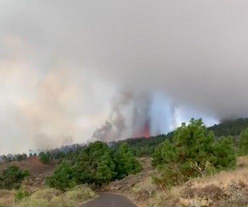 Cumbre Vieja volcano erupts in Spain's Canary Islands