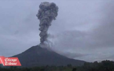 More than 19,000 people evacuated since Mount Sinabung began to erupt