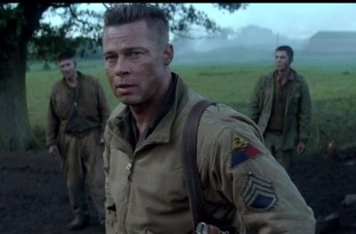 WATCH: Brad Pitt fights Nazis in 'Fury' trailer