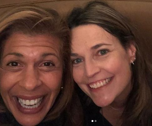 Hoda Kotb, Savannah Guthrie enjoy 'ladies night' after 'Today' switch-up