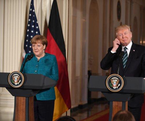 White House: Merkel to meet again with Trump next week
