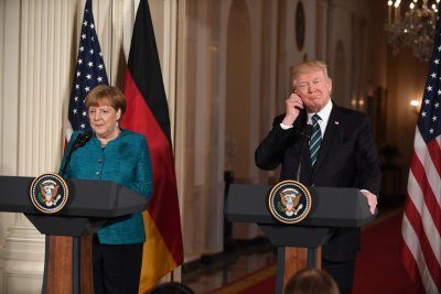 White House: Merkel to meet again with Trump next week