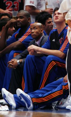 Knicks tell Marbury to stay away from team