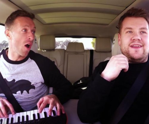 Chris Martin joins James Corden for Carpool Karaoke, pays tribute to David Bowie
