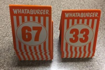 Thefts leave Texas police with more Whataburger order tents than Whataburger