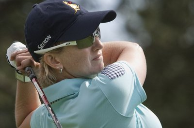LPGA: Karrie Webb clings to lead at Ladies Scottish Open