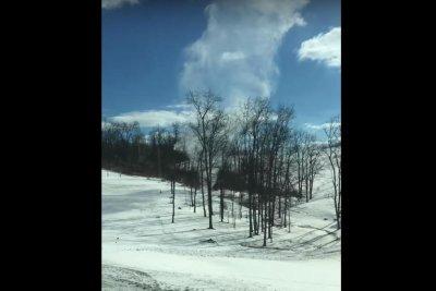 Ohio couple capture snownado footage in countryside